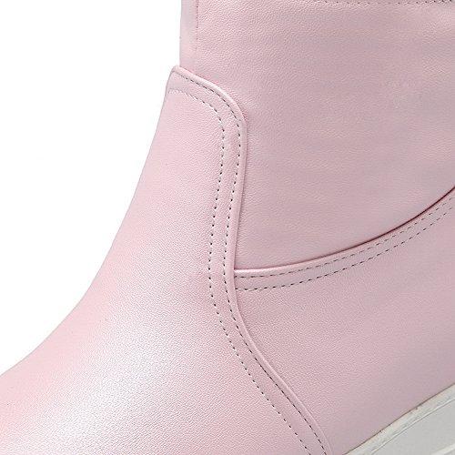 BalaMasaAbl09773 - Sandali con Zeppa donna, Rosa (Pink), 35
