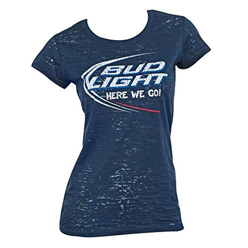 Bud Light Womens Burnout Shirt