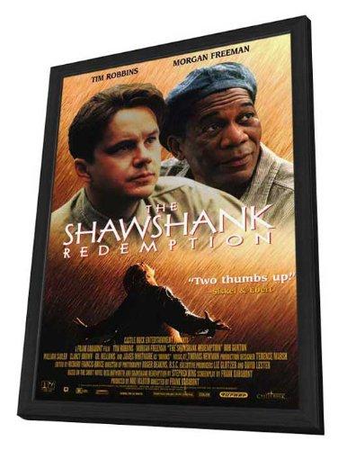 The Shawshank Redemption - 11 x 17 Framed Movie Poster