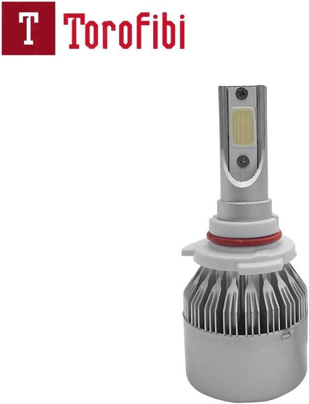 Newest Model Torofibi 9005 LED Headlight Bulbs HB3 Ice Blue 7600Lumen COB Headlight Conversion Kit For High//Low Beam Daytime Running Lights