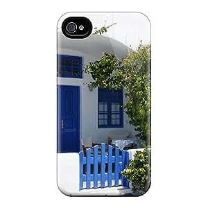 Tpu Case For Iphone 4/4s With HmJtqyE7446Qhozz JudithSnow Design