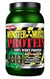 Colossal Labs Monster Muscle Protein – 100% Cold Filtered Whey Protein – Rapid Amino Acid Delivery – Natural Coco for a Rich Chocolate Flavor – Tub Weighs 5 Pounds, Contains 68 Servings