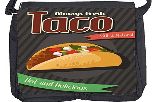 Borsa Tracolla Arredamento Cucina Taco Stampato