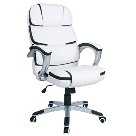 white luxury office chair. LIFE CARVER OFFICE COMPUTER PU LEATHER CHAIR LUXURY DESIGNER SWIVEL HIGH QUALITY DESK ( White Luxury Office Chair X
