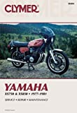 Yamaha Xs750 and 850, 1977-1981, Clymer Publications Staff and Penton Staff, 0892872438