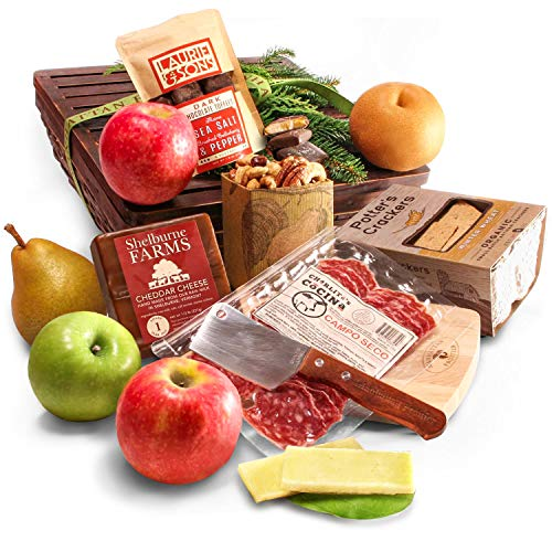 Manhattan Fruitier Fruit, Cheese & Charcuterie Gift Basket
