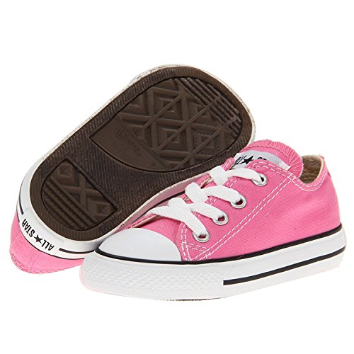 Taylor All Star Canvas Low Top Sneaker pink 7 M US Toddler ()