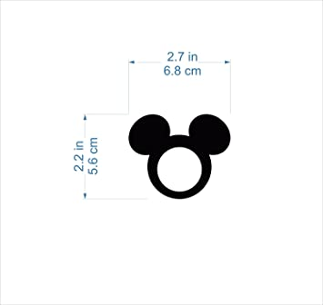 Mickey Mouse Ears Napkin Rings Kids Cloth Napkins Mickey Theme ...
