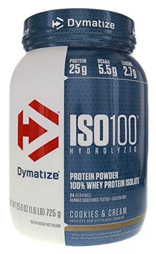 Dymatize ISO-100 Cookies & Cream -- 1.6 lbs by Dymatize