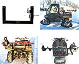 Ice Fishing Auger Carrier Holder - Compatible with every ATV, UTV Snowmobile *Including Polaris UTV & ATV Composite Rack (Standard Mount (Fits any ATV or Snowmobile other than Polaris))