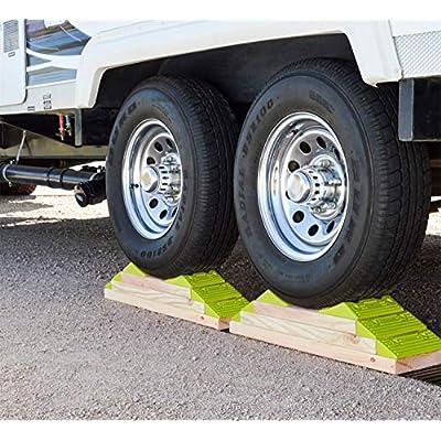 Hopkins 08200 Endurance RV Leveling System with Wheel Chock: Automotive