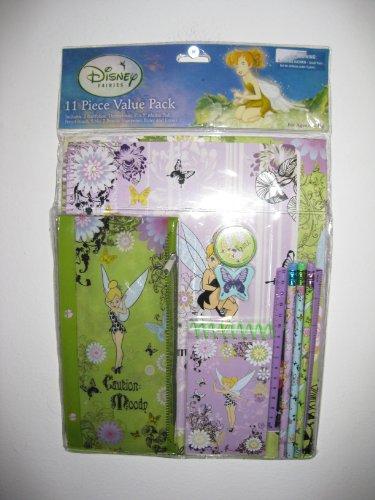Disney Tinkerbell Fairies 11 Pc Value Pack Gift Set Schoo...