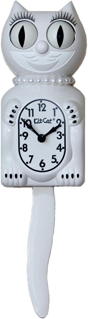 Kit-Cat Klock Limited Edition Lady (White)