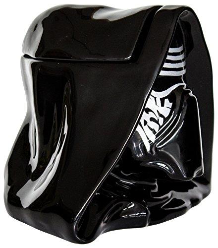 Star Wars 21652 - Kylo Ren 3D Keksdose in Keramik mit Deckel in Geschenkverpackung, 20 x 16 x 16 cm