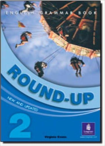 2 round english grammar book up