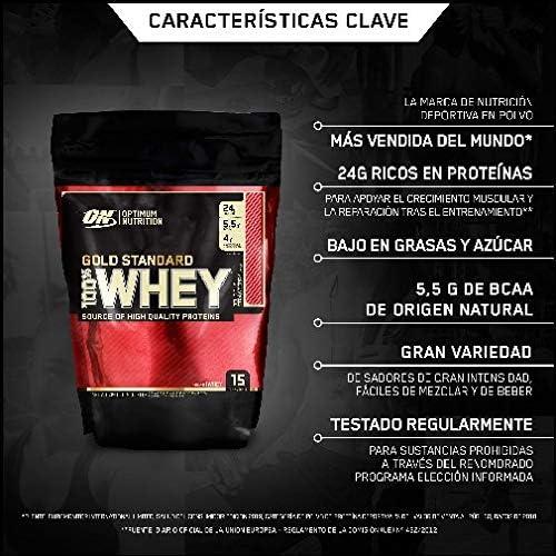 Optimum Nutrition ON Gold Standard 100% Whey Proteína en Polvo ...