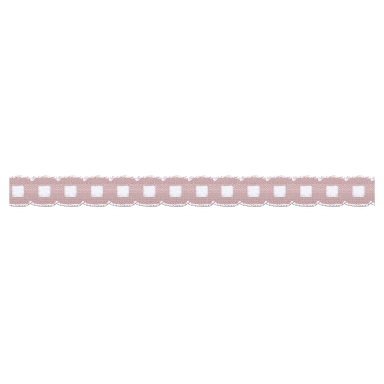 S.I.C. チロルテープ 10mm C/#9 ピンクベージュ×ホワイト 1反(30m) SIC-2001   B07NPQD7QG