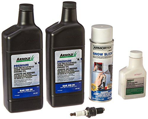 Arnold Premium Snow Thrower Maintenance (Snow Blower Oil)