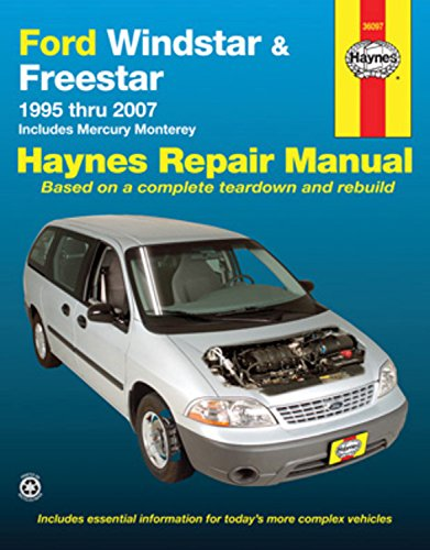 Ford Windstar & Freestar 1995-2007 Repair Manual (Haynes Repair Manual) (Freestar Ford Sel)