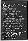 Kindred Hearts 12''x18'' Love Grows Best in Little Houses Canvas Art
