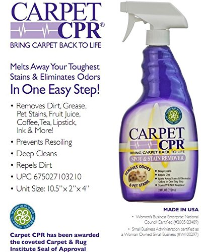 Leather-Carpet-Furniture CPR - Spring Cleaning Value Pack – Clean & Condition Leather, Treat Carpet Stains, and Spruce Up Your Wood Furniture With This 3-in-1 Savings by CPR Cleaning Products (Image #4)