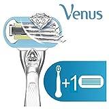 Gillette Venus Platinum Extra Smooth Metal Handle