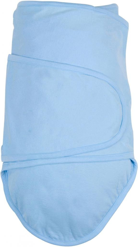 Miracle Blanket Swaddle for Baby Boys, Blue, Newborn to 14 Weeks