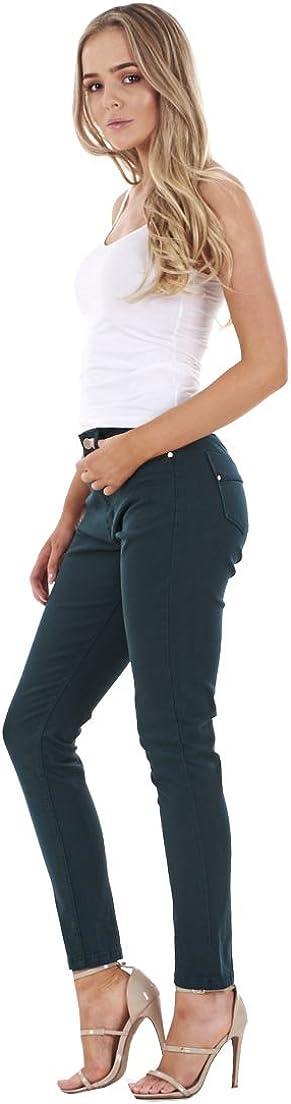 Ex Famous Store Ladies Autograph Quality Skinny Jeans Womens Slim Fit Denim Cotton Stretch
