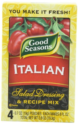 ingredients in good seasons dry italian dressing - 1