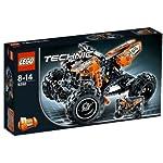 lego Technic 42008 rimorchiare + 8 Grundig batterie libere  LEGO