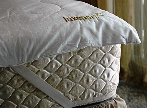 Luxeport Premium Silk Mattress Topper, Queen