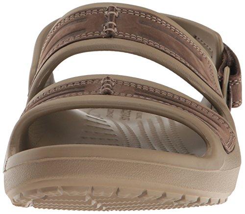 Crocs Mens Yukon Mesa Sandal Espresso / Khaki