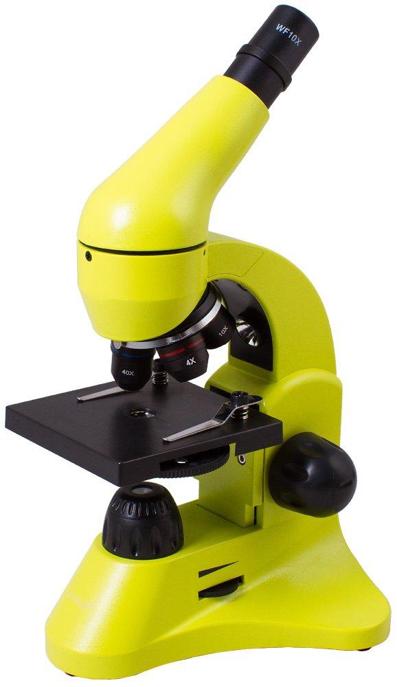 Levenhukレインボー50l顕微鏡 B01BVACA8M  ライムグリーン