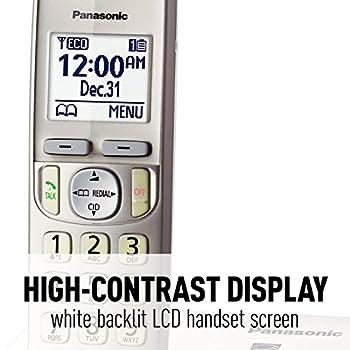 Panasonic Kx-tgd223n Dect 6.0 3-handset Landline Telephone 17