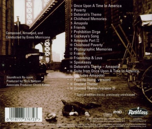 Once Upon a Time in America by MORRICONE,ENNIO