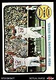 1973 Topps # 208 1972 World Series - Game #6 - Reds' Slugging Ties Series Johnny Bench / Denis Menke / Bobby Tolan Oakland / Cincinnati Athletics / Reds (Baseball Card) Dean's Cards 6 - EX/MT Athletics / Reds