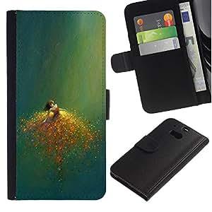 All Phone Most Case / Oferta Especial Cáscara Funda de cuero Monedero Cubierta de proteccion Caso / Wallet Case for HTC One M8 // Sacrificio