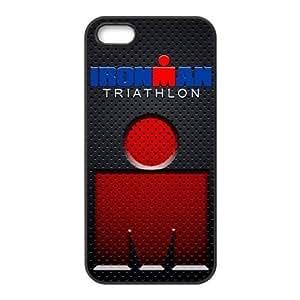 Painted Ironman triathlon TPU Hard back phone Case cover Iphone 5s 5 Kimberly Kurzendoerfer