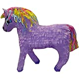 Pinatas Unicorn with Rainbow Mane, Purple