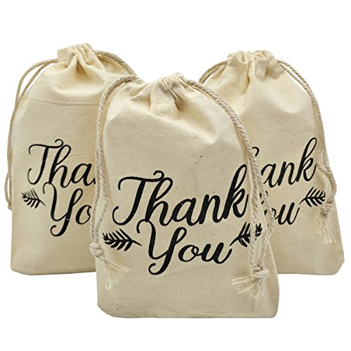 awstring Bags 4x6 inch for Party Favor 20 Pack Gift Goodies Bags (4x6) ()
