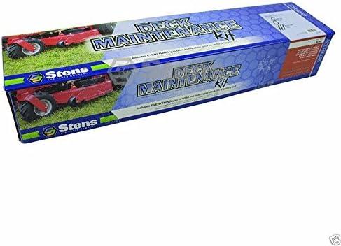Stens 785-740 Deck Maintenance Kit for Scag 481558 482879 Belt /& 3 Mower Blades