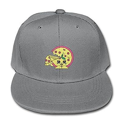 Lodve Hvgfgs Youngster Baseball Caps Cute Pizza Adjustable Snapback Hats Girl Boy