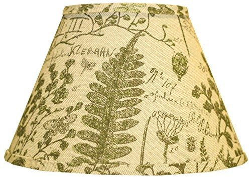 AHS Lighting SD1380-12WD Cedar Moss Woodlands Drum Lamp Shade with Washer, 12