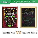 "Hosim LED Message Writing Board,32""x24"" Illuminated"