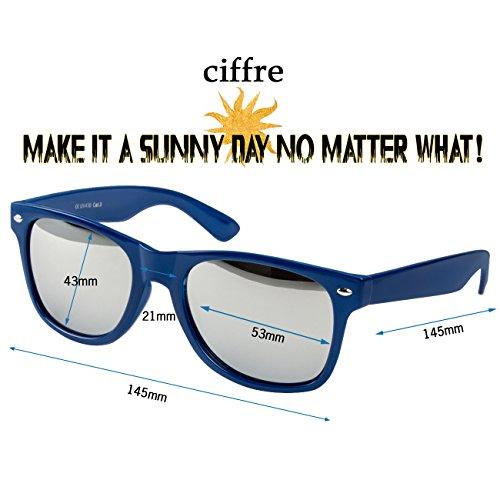 différents silber style de et 80 disponibles verspiegelt WSDB lunettes vintage Blau env Nerd de style clear lunettes wayfarer modèles coloris paire style aviateur soleil 0IxpZwq1