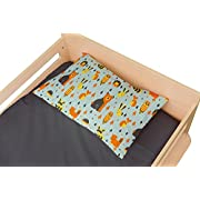 Toddler Pillowcase Woodland -Super Soft Microfiber That Is as Soft as 1500 Thread Count Cotton (Pillow 13x18)