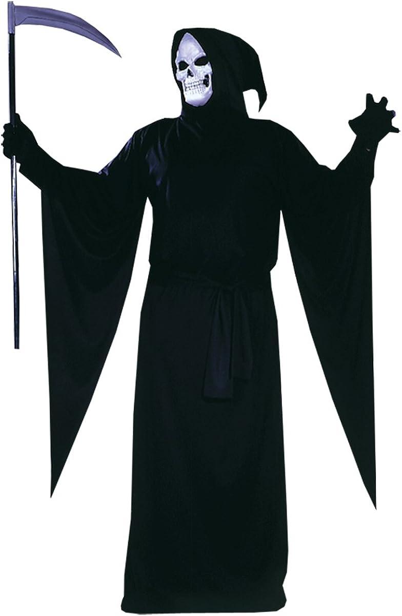 Adult Men/'Size XL Robe XXL Skull Reaper Halloween Costume