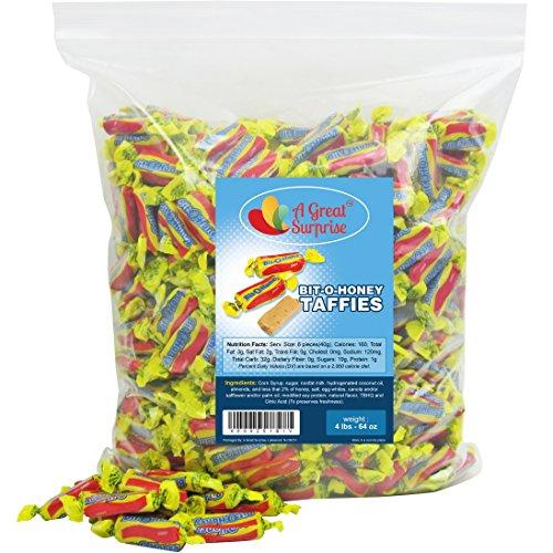 Bit-O-Honey Candy, 4 LB Bulk