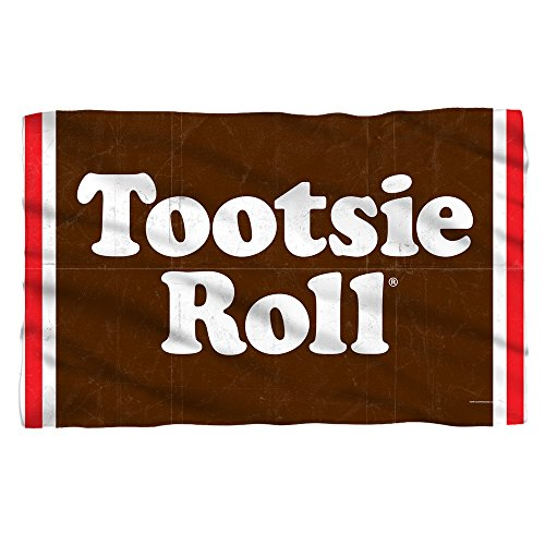 TOOTSIE ROLL WRAPPER Sublimation Fleece Blanket