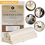 Cheesecloth, Grade 90, 18 Sq Feet, Reusable, 100% Unbleached Cotton Fabric, Ultra Fine Cheesecloth for Cooking - Nut Milk Bag, Strainer, Filter (2Yards)
